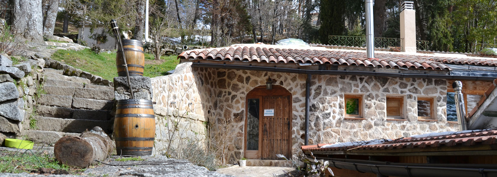 Casa rural en plena sierra de Madrid